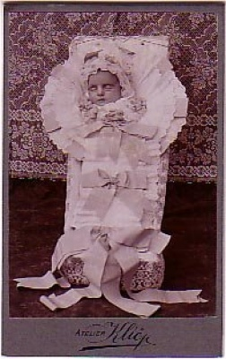 Victorian Post Mortem Photography Baby