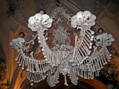 Bones Chandelier