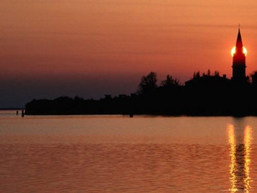 Roberto-Gerometta-Sunset-Over-Poveglia-Island-And-The-Lagoon-Venice-Veneto-Italy